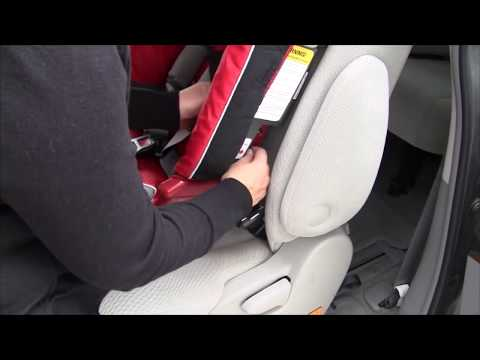 Install a Forward-facing Diono Car Seat with SuperLATCH™