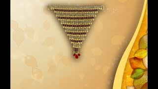 Ganpati Jewellery | Gauri Ganpati Gold Plated Matha Patti Designs 2019