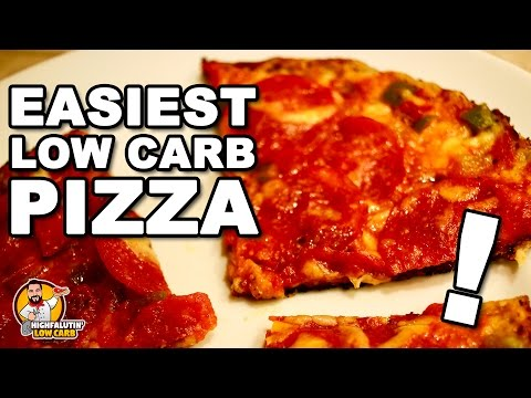 EASY LOW CARB PIZZA! - Fast Keto Pizza Recipe + Staycation Vacation