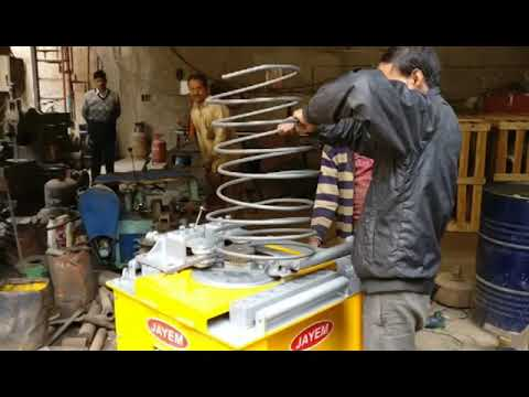 Combined Bar Cutting and Bending Machine