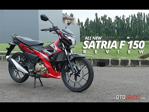 Suzuki All New Satria F150 2016 Test Ride Review Indonesia - OtoRider