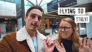 Flying from France to ITALY + Tuscany Road Trip Begins!