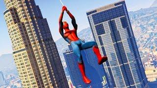 NEW SPIDERMAN MOD in GTA 5! (GTA 5 Mods)