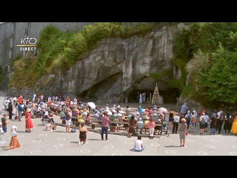 Chapelet du 26 juillet 2020 à Lourdes