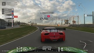 INTENSE ONLINE RACE - GT SPORT