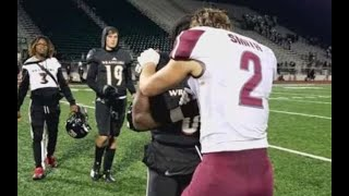 VIDEO: Football Player Asks Rival To Pray For Moms Battle With Cancer