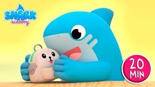 Johny Johny Yes Papa 👶 THE BEST Educational Song for Children | Shark Academy