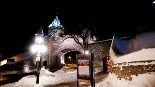 #893 Beautiful QUEBEC CITY at Night in Winter!! - Jordan The Lion Daily Travel Vlog (1/16/19)