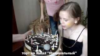 Детский торт Angry birds на заказ Киев - видео 1