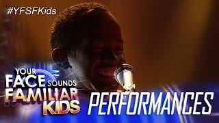 Your Face Sounds Familiar Kids: Awra Briguela as Louis Armstrong - What a Wonderful World