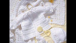 Crochet Along (CAL) Baby Layette Set - Video 4