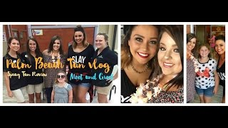 Spray Tanning Review at Palm Beach Tan |Meet & Greet vlog