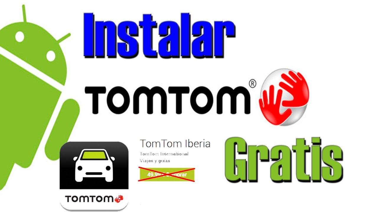 Descargar Como Instalar Tom Tom Iberia en tu Movil con Android para celular #Android