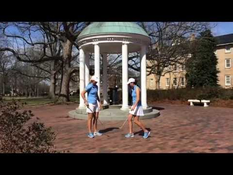 UNC Women's Golf – Campus Juggle Trick Video
