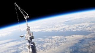 Proposed skyscraper would dangle above Earth