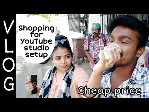 Fun Vlog | Sowcarpat, Ellis Rd, Richie Street Shopping | Makeup Class | RJ Vlogs 2 | Cheap Price| KS