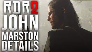 Red Dead Redemption 2 - John Marston Details!