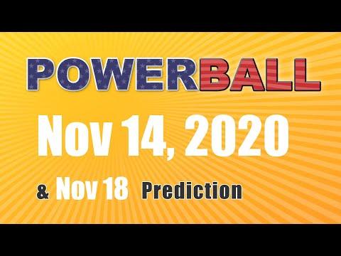 Winning numbers prediction for 2020-11-18|U.S. Powerball