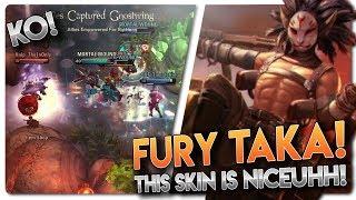 FURY TAKA SKIN GAMEPLAY!! Vainglory 5v5 Gameplay - Taka |CP| Jungle Gameplay