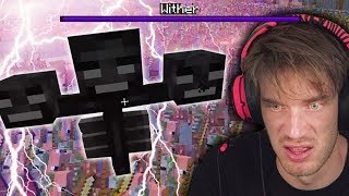 I summoned The Wither Boss in Minecraft
