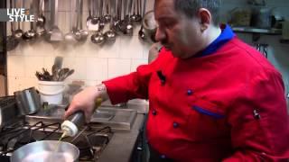Scialatelli vongole, cozze, pomodorini, broccoli. Chef Rozzi del Bianca di Milano