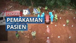 Video Pemakaman Pasien Covid-19 yang Meninggal di Jakarta