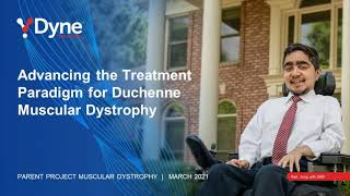 Webinar: Transforming the Treatment Paradigm with Dyne Therapeutics (March 31, 2021)