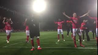 Victoire Du Nîmes Olympique Face à Caen Au Stade Des Costières
