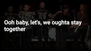 Maroon 5 - Let's Stay Together (Lyrics | Letra)