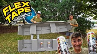 Does Flex Tape REALLY Work?! (As Seen On TV)