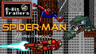 8-Bit Trailers: SPIDER-MAN: HOMECOMING (2017) Tom Holland, Marvel