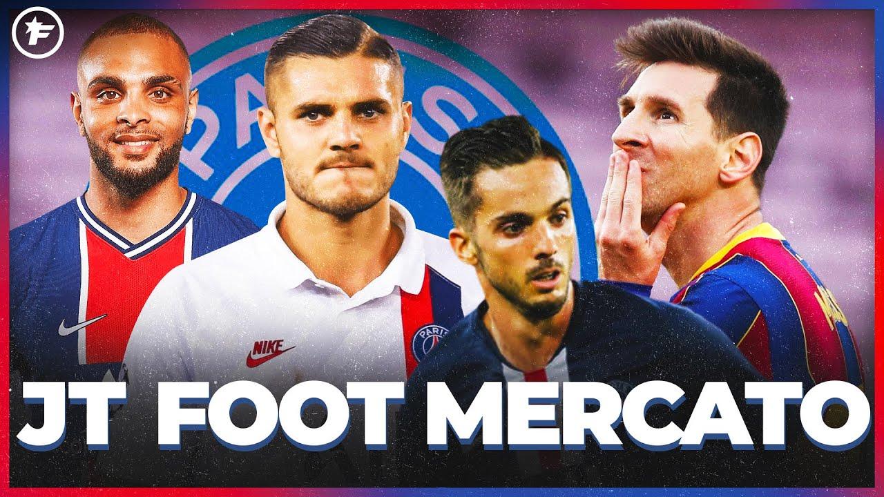 Le gros DÉGRAISSAGE du PSG pour signer Lionel Messi   JT Foot Mercato