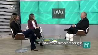 Dr. Gerd Schreen explica a importância do diagnóstico precoce em entrevista à TV Senado