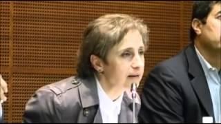CARMEN ARISTEGUI PARICIPA EN EVENTO DE JAVIER CORRAL