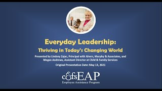 Everyday Leadership: Thriving in Today's Changing World
