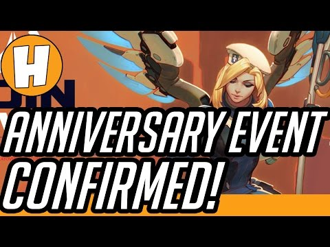 Overwatch ANNIVERSARY EVENT CONFIRMED – Datamined Proof! | Hammeh