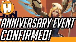 השערות על איוונט החוגג את יום־ההולדת של Overwatch