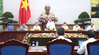 Thủ tướng Nguyễn Xuân Phúc chủ trì Hội nghị ứng phó với biến đổi khí hậu