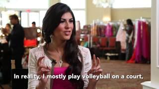 Hellen Toncio Chile Miss Universe 2014 Official Interview
