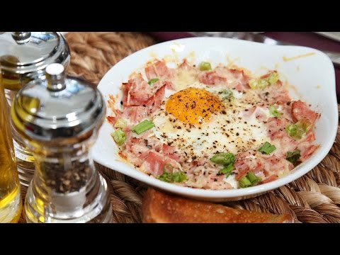 Easy Baked Eggs | Brunch Month
