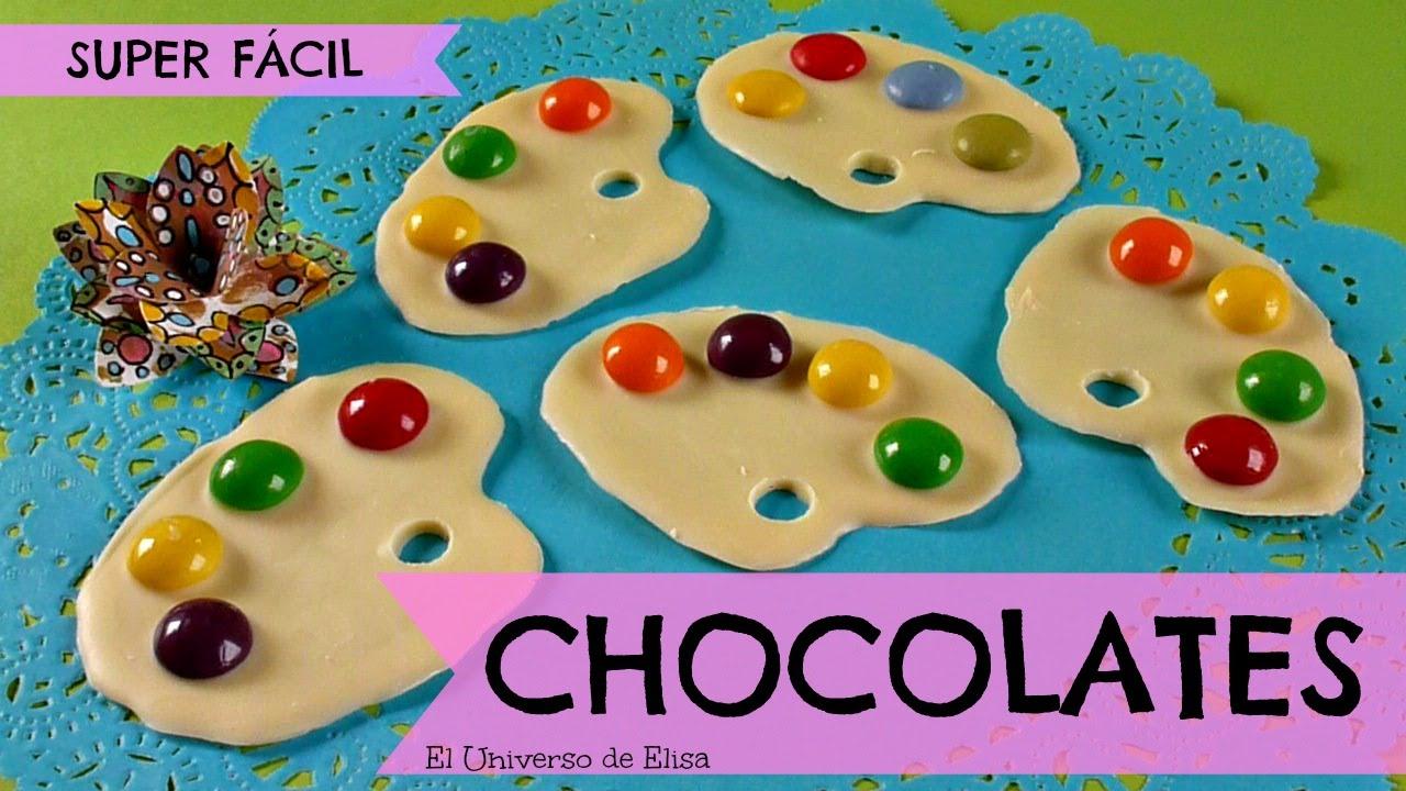 Regalos para el Día del Padre, Regalos para el Día de la Madre, Chocolates Paleta de Pintor/Pintora