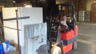 Clamp truck training