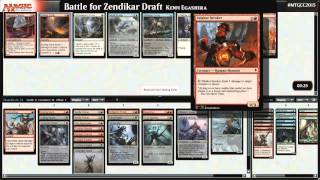 2015 Magic Community Cup Battle for Zendikar Draft