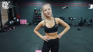 Короткая тренировка и растяжка на всё тело от мастера спорта по гимнастике Алёны Михайловой