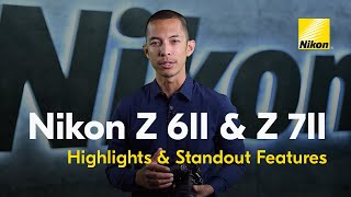 YouTube Video UALpeiC9Q3g for Product Nikon Z 7II Full-Frame Mirrorless Camera by Company Nikon in Industry Cameras