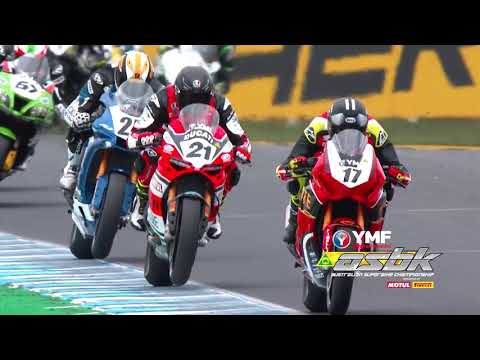 ASBK Round 1 Highlights from Phillip Island Gran Prix Circuit