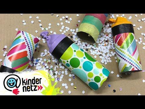 DIY-Tipp: Konfettikanone basteln   SWR Kindernetz
