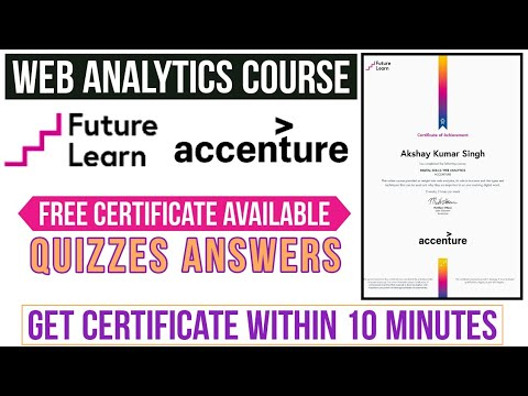 Web Analytics Course by Accenture   Free Certificate Available ...