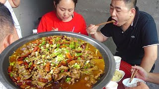 1.5kg of beef tongue, boiled spicy beef tongue, Sichuan practice, ease!