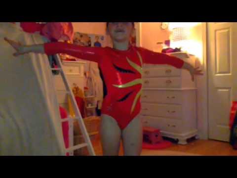 Paige's leotard fashion show